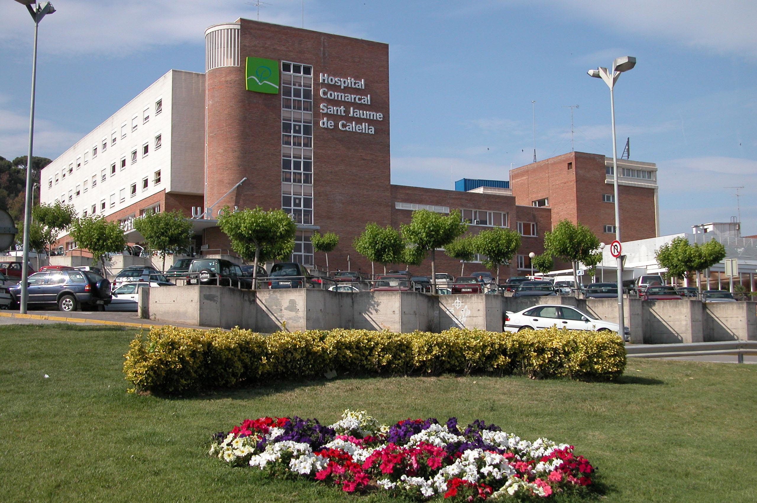 Façana de l'Hospital de Calella